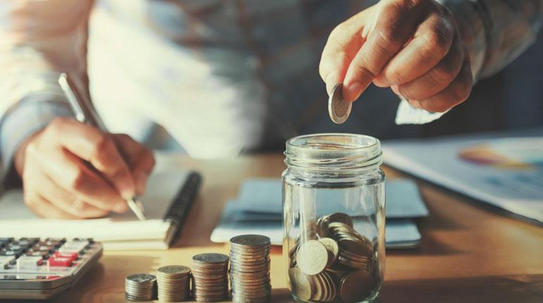 Effectuer des épargnes sur revenus